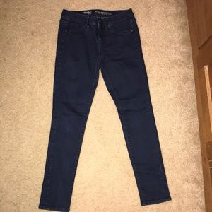 Mossimo 24/00  Mid-Rise Crop Denim Jegging